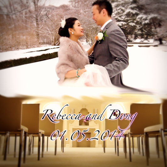 Rebecca and Dong's Winter Wedding